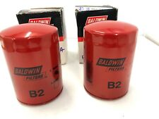 NEW LOT Of 2 B2 Baldwin Engine Oil Filters