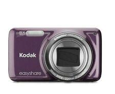 "NEW Kodak EASYSHARE M583 14MP Digital Camera 8X Optical Zoom 3"" LCD Purple +Case"