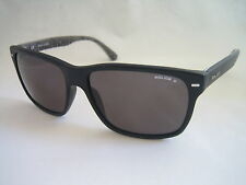 POLICE SUNGLASSES WAYFARER SKYLINE 1 S1860 703P BLACK POLARISED BNWT GENUINE