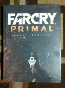 Farcry Primal Collector's Edition Strategy Hardback Game Guide Free E-Guide