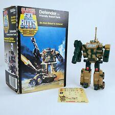 Vintage Super GOBOTS Defendor 031 Friendly Robot Tank Tonka 1984 Japan