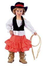 Disfraz vaquera cowboy niña talla 3 años