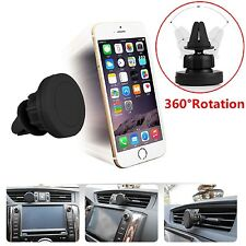 360° In Car Magnetic Air Vent Mount Holder For Smartphones GPS Tablets iPad iPod