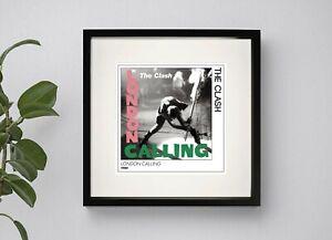 THE CLASH - LLONDON CALLINGBOXED PRINT POSTER ARTWORK 3 Sizes Black or White