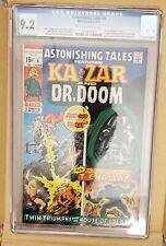 🔥 Astonishing Tales 6 🔑 CGC 9.2 💥 FIRST Doctor DOOM VS Black Panther 🔥 movie