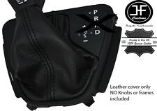 BLACK STITCH LEATHER AUTOMATIC SHIFT BOOT FOR LAND ROVER FREELANDER 2 LR2 06-14