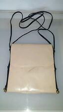 Bruno Magli vintage women's handbag decent condition creamy beige