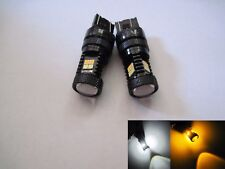 2x  7443 SRCK / CK  Samsung LED 22W high power 22 dual  White Amber Switch back