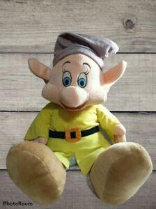 "Disney Snow White 7 Dwarf Dopey 27"" Plush Stuffed Animal XL Toy Dwarfs Doll Coll"