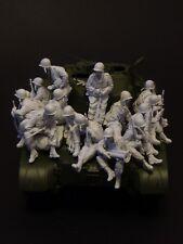 AC Models USArmy Pershing riders Korea 15 soldier figures 1/35th Unpaintd kit