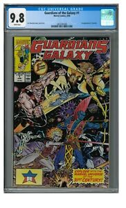 Guardians of the Galaxy #1 (1990) Key 1st Taserface Marvel CGC 9.8 JZ144