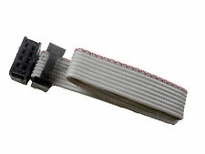 2Pcs 8 Pin to 8Pin 1ft 2.54mmPitch 28AWG IDC Flat Ribbon Cable with Red Line