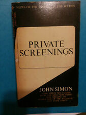 Private Screenings by John Simon