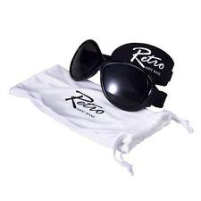 BABY Banz Retro Occhiali da sole 0-2 ANNI NERO 100% Protezione UV Nuovo di Zecca