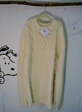 LARGE Cable Cozy Sweater Men Women Hanna Andersson NEW NWT