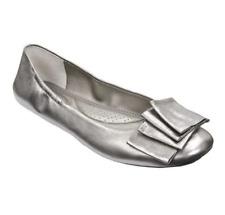 Me Too Lilyana Metallic Leather Women Ballet Flat Size 6.5M 6841