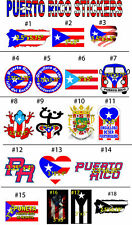PUERTO RICO -FLAG-STICKER -BANDERA-PUERTO RICO-BEST SELLERS STICKERS-DECALS