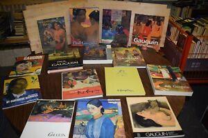 Paul Gauguin • Konvolut • 15 Bände • Kunstbände • Kunst