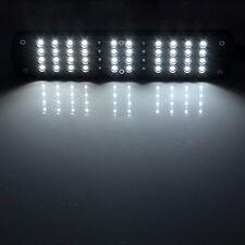 48 LED Aquarium Fish Plant 2 Mode Clip White &Blue Light Bulb Lamp Adjustable SV