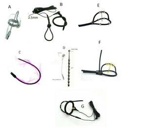 Tens Electrosex EStim E-Stim  Urethral Sound Dilator Electro Shock accessories