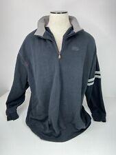 ESPN Men's Black 1/4 Zip Sweatshirt Size XXL