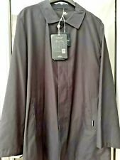 AQUASCUTUM NAVY BLUE Single Breasted VOYAGER PACKABLE RAIN COAT M BNWT UK Made