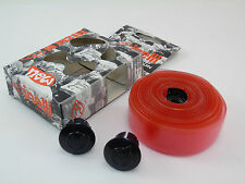 GENUINE CINELLI JELLY RIBBON HANDLEBAR TAPE, TRANSPARENT RED, NEW IN BOX