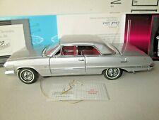 Franklin Mint 1963 Chevrolet Impala SS 1:24 Diecast in Box