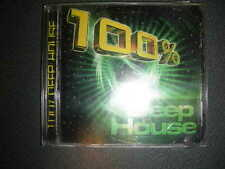 Dance CD 100 Percent Deep House Various  Critique Records