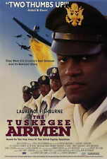 "THE TUSKEGEE AIRMEN Movie POSTER 27x40 Laurence ""Larry"" Fishburne Cuba Gooding"