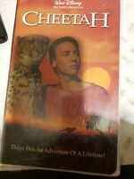 Cheetah (VHS, 2002) clamshell sealed brand new