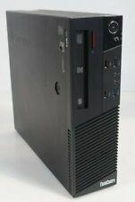 Lenovo ThinkCentre M93p SFF Intel i7-4770 8GB 320GB HDD GT 620 Fair No COA