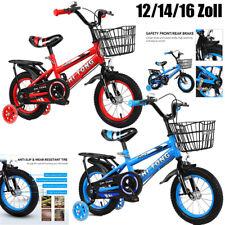 12/14/16 Zoll Kinderfahrrad Kinderrad Fahrrad Toddler Bicycle Abnehmbarem w/2-7J