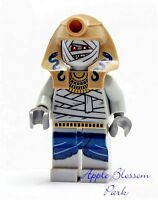 NEW Lego Pharaoh's Quest MUMMY ZOMBIE Minifig -Halloween Monster Minifigure 7325
