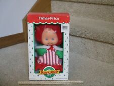 Fisher Price Puffalump Kid Christmas Girl doll Green Red dress New Box outfit