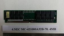 NEC MC-421000A32B-70. 4MB 72pin 70ns simm.