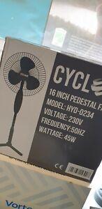 "Hydroponics 16"" Cyclone Pedestal Oscillating Fan 3 Speed"
