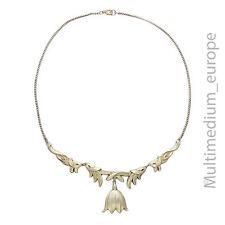 Art Deco WMF Ikora attrib Collier Halskette Messing versilbert necklace jewelry