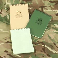 Rite In The Rain A6 Notepad. Tan Waterproof Notebook NAV210