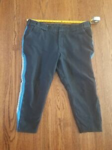 NYPD HIGHWAY PATROL MOTORCYCLE REFLECTIVE UNIFORM PANTS / BREECHES 44R