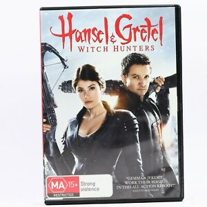 Hansel and Gretel Witch Hunters DVD R4 Movie PAL Good Condition