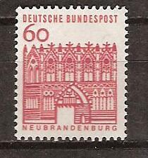 WEST GERMANY # 910 MNH NEUBRANDENBURG ARCHITECTURE