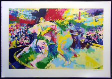 """LeROY Neiman """"Sumo Wrestler"""" Hand Signed Limited Edition Art Make an Offer!"""