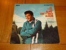 Elvis Presley-Elvis 'Christmas Album - 1970 UK 10-track Mono Vinyl LP