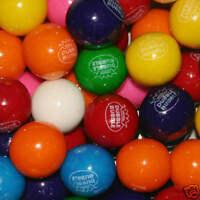 "Dubble Bubble Gumballs Gum Balls 24mm 1"" Round Sealed Bag 2 lbs"