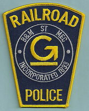 GUILFORD BOSTON & MAINE RAILROAD POLICE PATCH