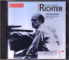 Sviatoslav RICHTER: RACHMANINOV Klavierkonzerte Nr.1 & 2 Kurt SANDERLING CD BMG