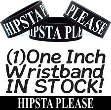 Hipsta Please Bracelet Fun Hipster Item Hip Merchandise Silly Wristband Hip-Ster