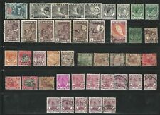 Malaya and States: Lot stamps 1 Val. repeated with diff. postmark, used EBMY06