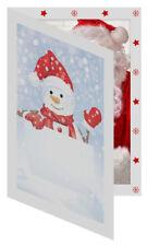 Tap Snowman Photo Folders for 5x7 Pictures ( Pkg. / 100 )